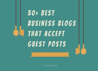 50 Best Business Blogs That Accept guest Posts